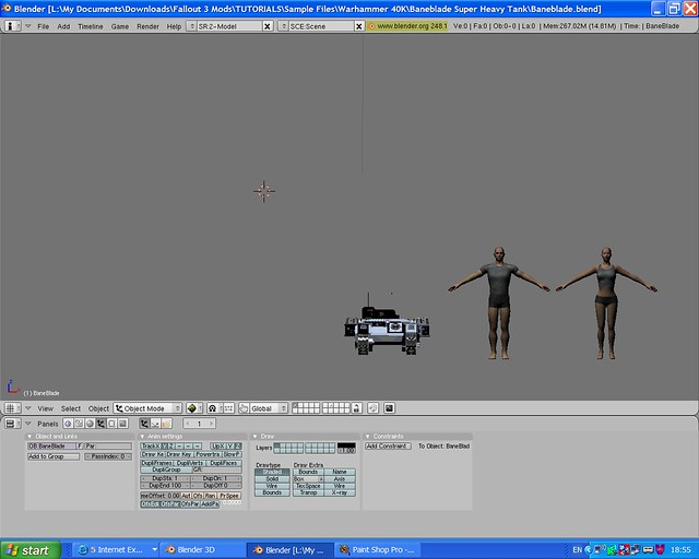 Baneblade Normal size in Blender   Fallout people to Right B…   Flickr