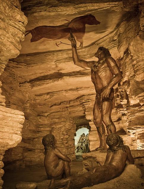 Diorama de la cova d'Altamira | foto: DG Patrimoni ...