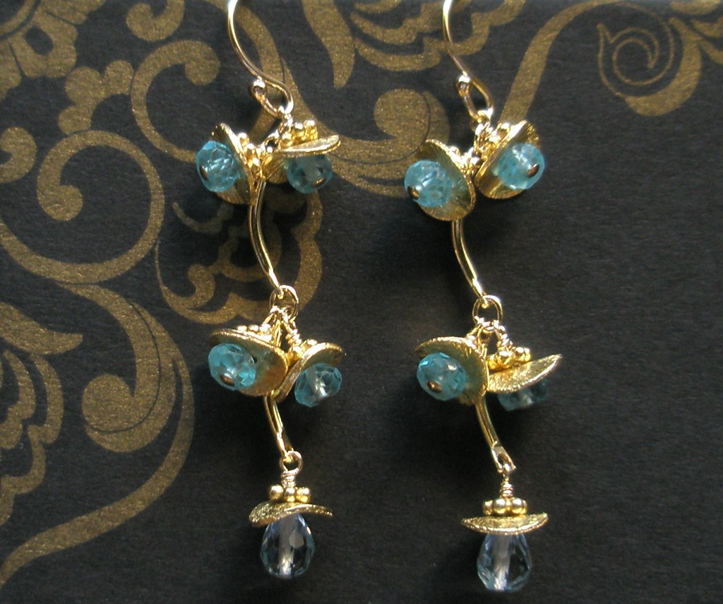 Blue Topaz Gold Ring Price