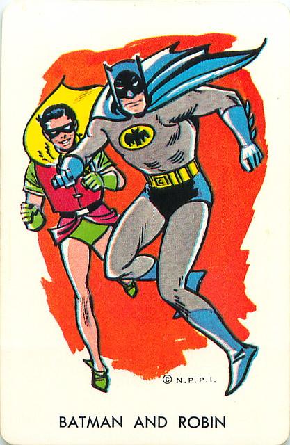 1966 Batman Card Game Batman Amp Robin Mark Anderson