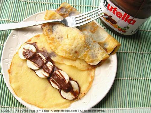 Banana Nutella Crepes | Flickr - Photo Sharing!