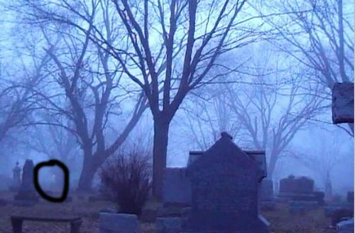 Maple grove Cemetery Ghostly Figure | Gore Orphanage ...