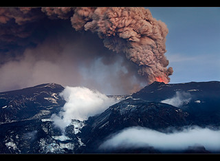 The Big Icemelter - Eyjafjallajökull Eruption | by orvaratli