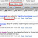 Focussing in in twitter search results by time