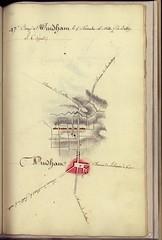 Camp à Windham, le 5 Novembre, 16 milles 1/2 de Bolton -- 1782.