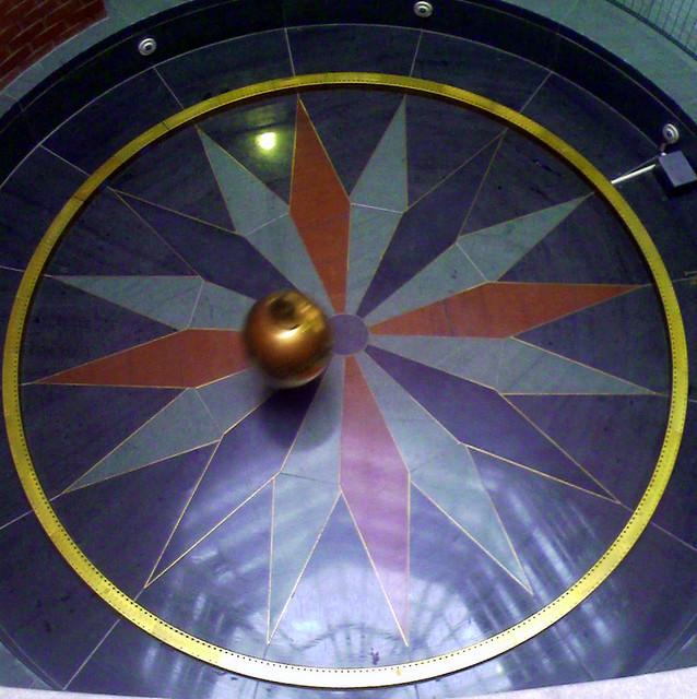 Pendulum stops swinging