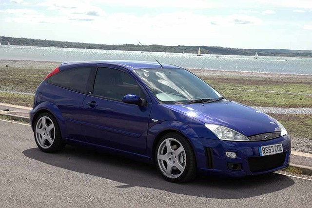 ford focus rs mk1 taken on the seafront at lepe beach sund flickr. Black Bedroom Furniture Sets. Home Design Ideas