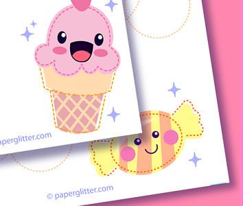 Kawaii Printable Stationery | You can print and make these f ...