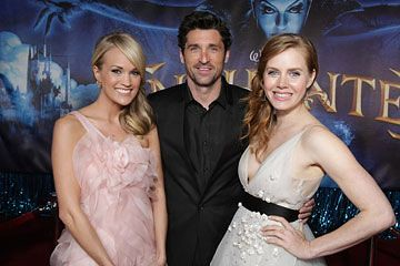 Carrie Underwood Patrick Dempsey And Amy Adams At The Wor