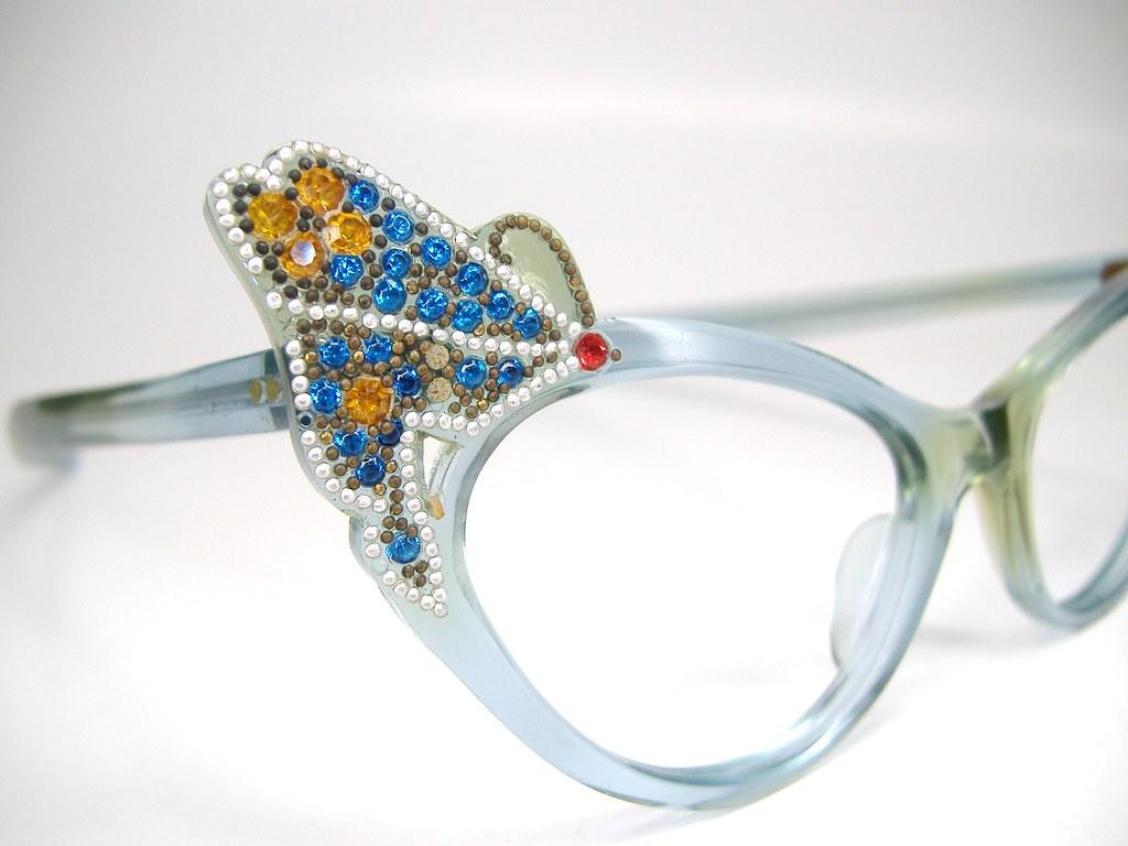 beautiful vintage butterfly eyeglasses frame frame flickr