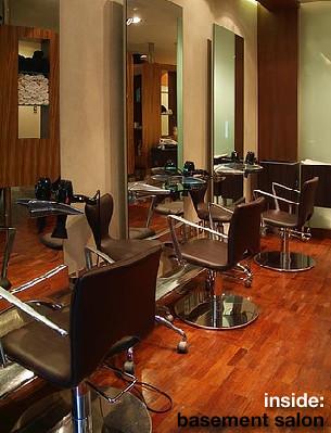 Inside basement salon beauty architect flickr for R b salon coimbatore