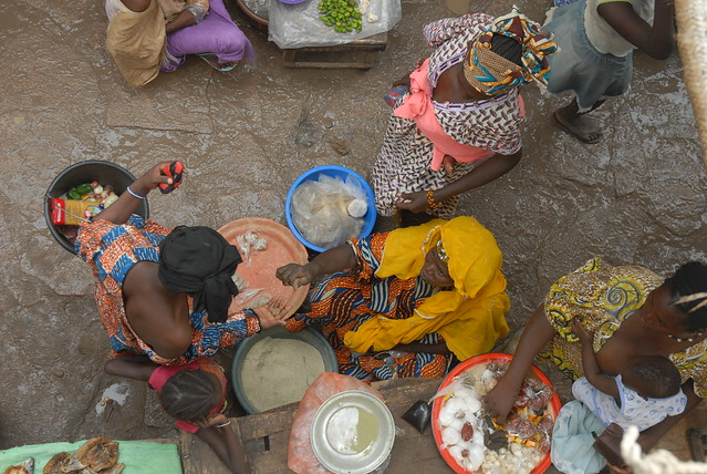 daily market in Mopt Mali