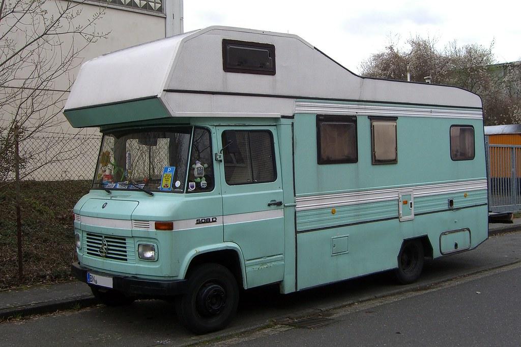 White Mercedes Benz >> Mercedes Benz T2 508D Van | Spotted in Bonn, Germany. | Flickr