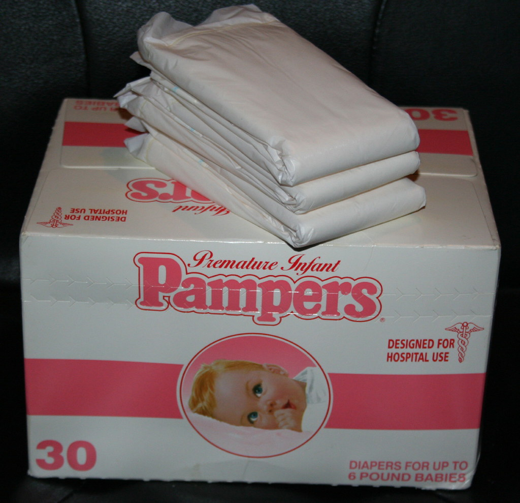 1983 pampers preemie 3 purchased on ebay for my