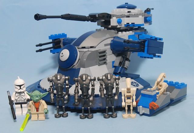 Star wars lego 8018 armored assault tank aat star wars - Croiseur star wars lego ...