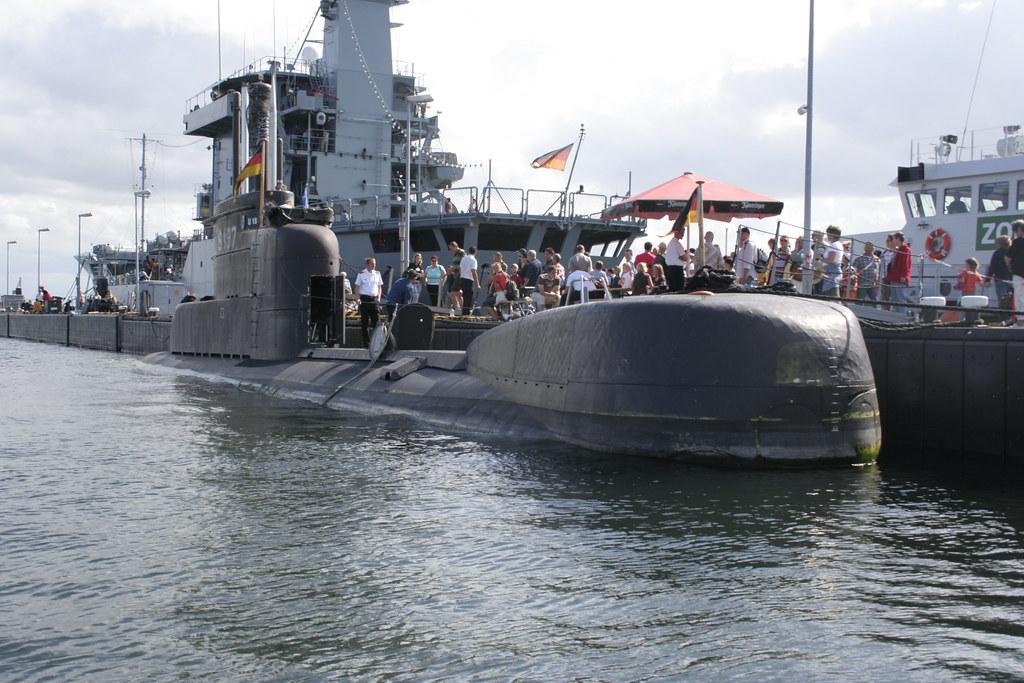 U Boot Porpoise Klasse U 18 der Bundesmarine ...