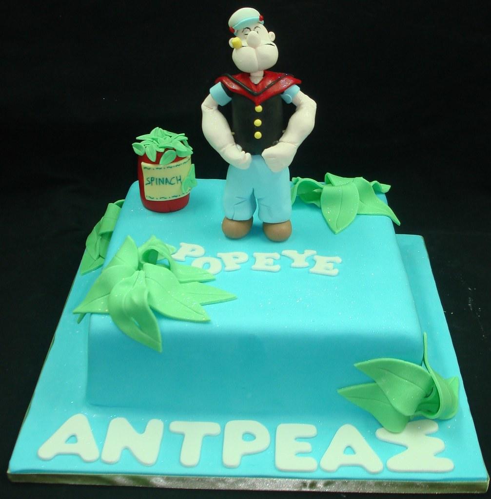 Popeye Cake Pan