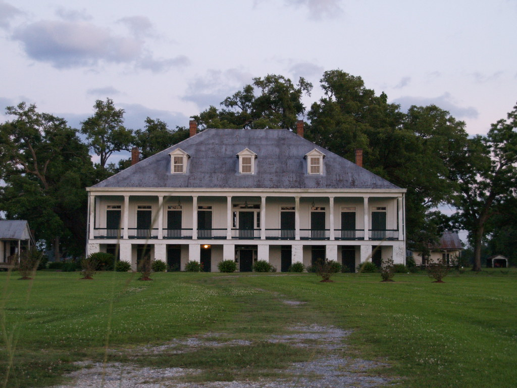 Louisiana Great River Road Of Old Sugar Plantation Homes O