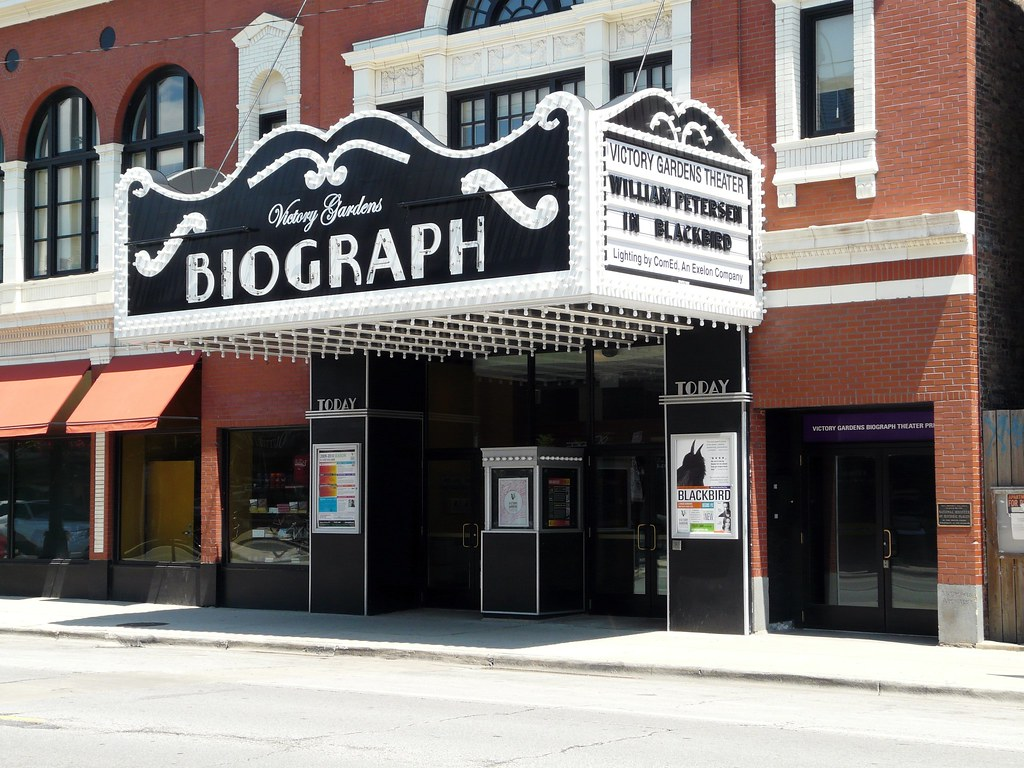 Biograph Theater Where John Dillinger Was Shot And Killed