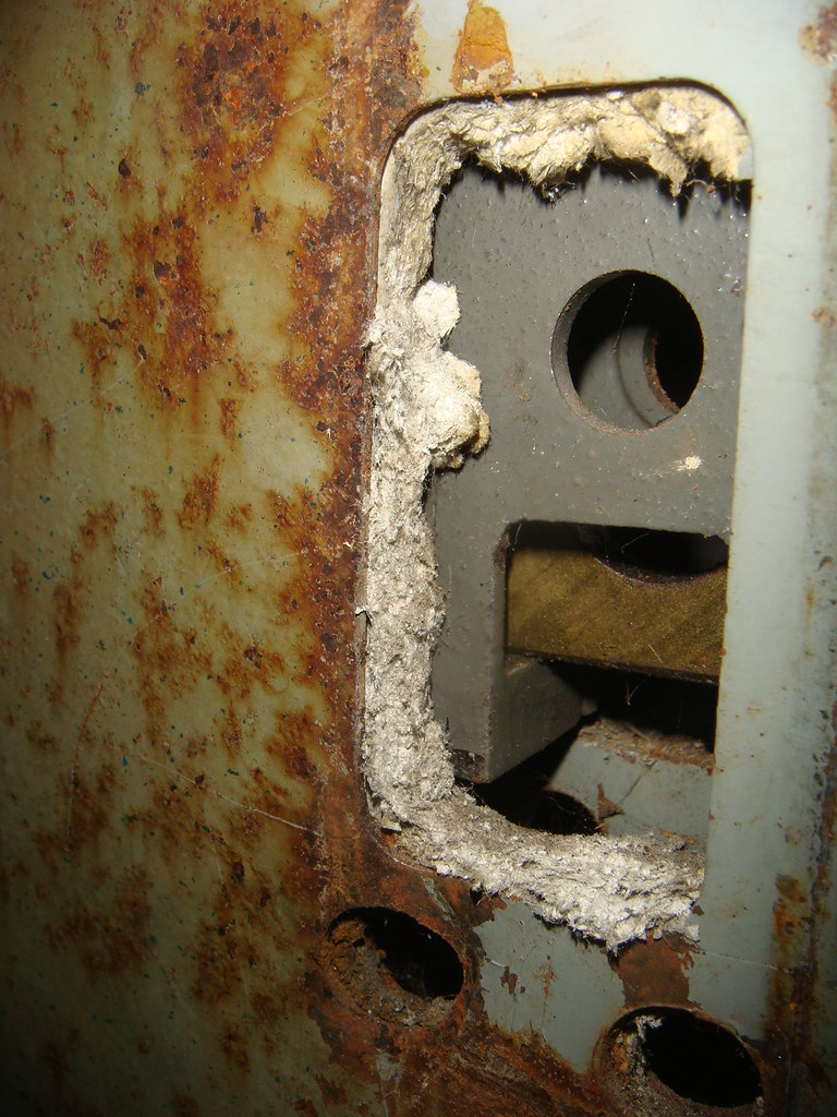 Metal Shell Fire Rated Asbestos Door Layer With Its