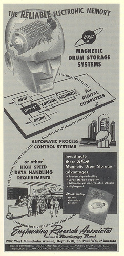 Early Computer Technology Advertisement | by Spenser.Cat