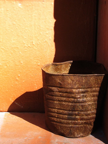 pail with shadows | by lonelanternsociety