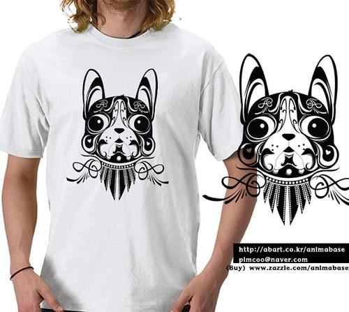 T shirt design doggy dog boston terrier t shirt my t for Boston rescue 2 t shirt