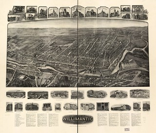 View of Willimantic, Conn. 1909. | by uconnlibrariesmagic