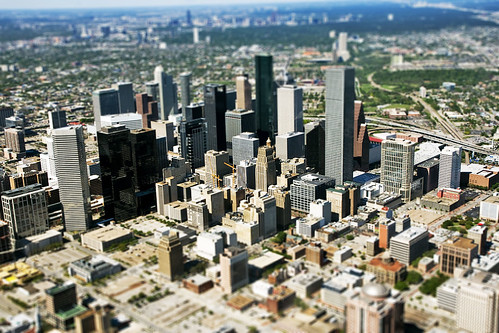 Miniature Downtown Houston | by baldheretic