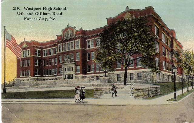 Westport High School   At 39th and Gilham Road, Kansas ...