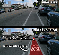 Bike Lane In Gary Vision | by Gary Rides Bikes