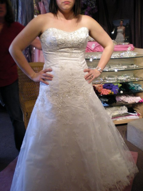 My Wedding Dress Front