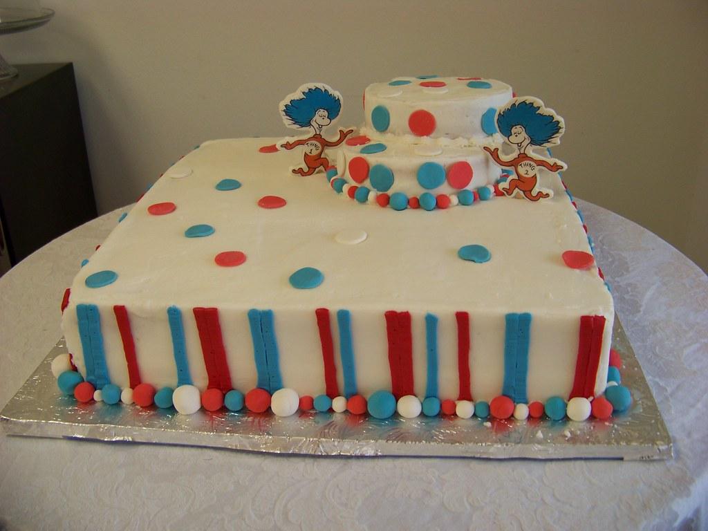 Dr Seuss Baby Shower Cake | Tc27jkw | Flickr