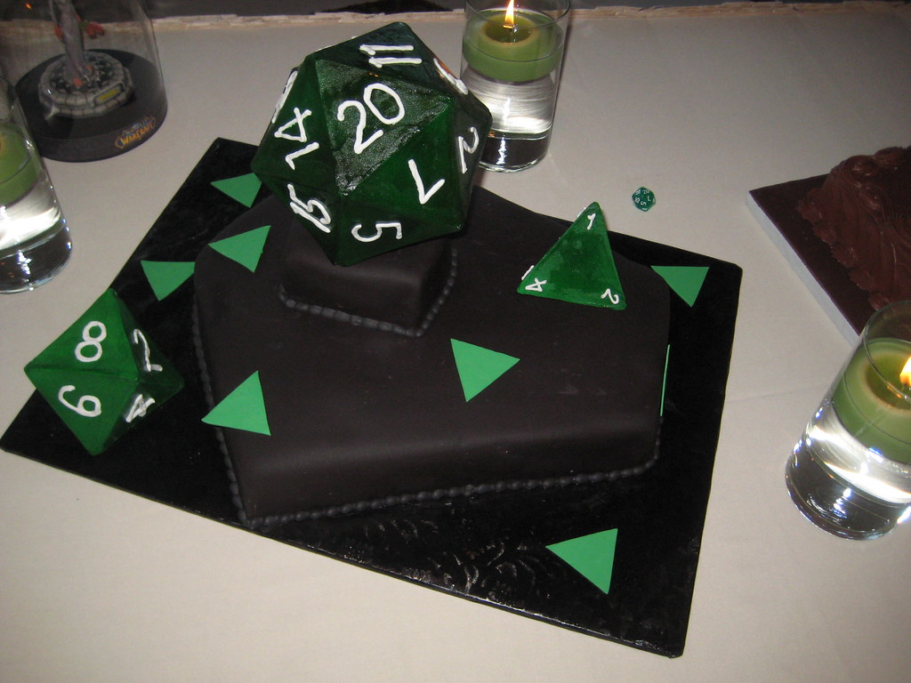 D20 Groom S Cake This Critical Hit Of Deliciousness Was