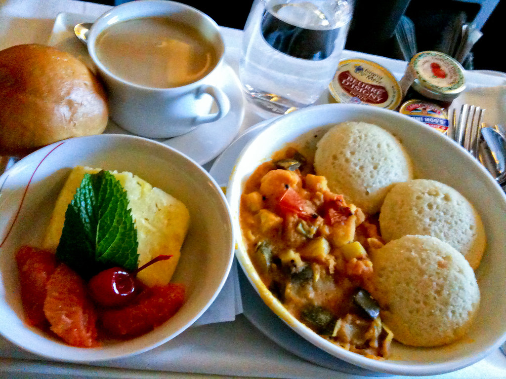 Air France - Hindu veg...