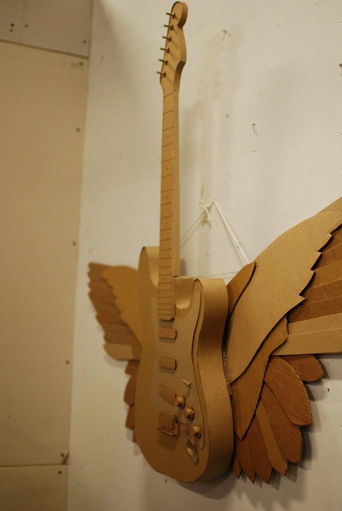 School Project Cardboard Tennie Shoe