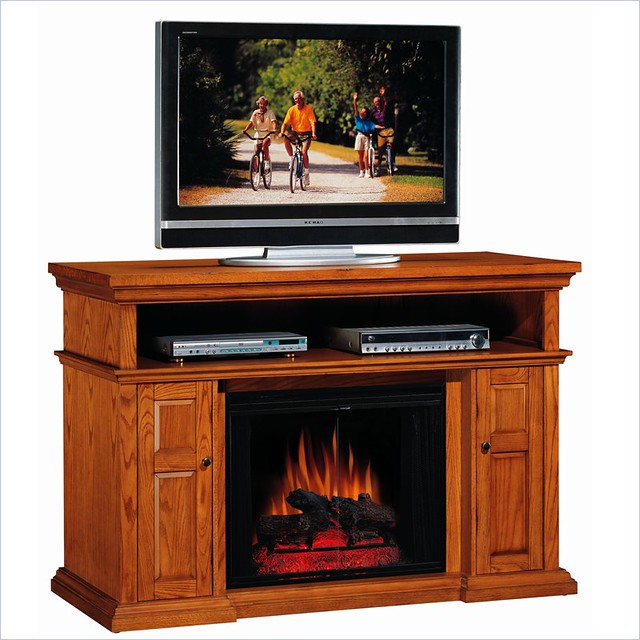 oak fireplace tv stand classic oak fireplace tv stand