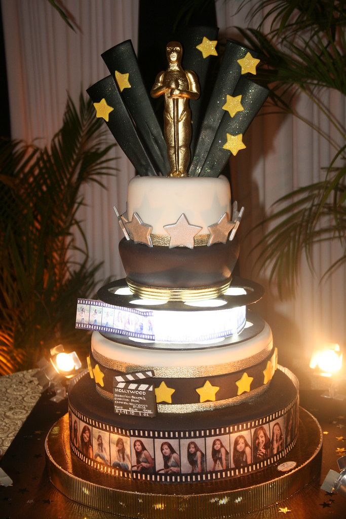 Hollywood Cake Images