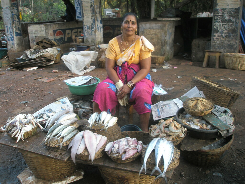Colva Fish Market Sarah Sollom Flickr