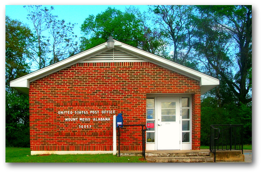 Mount Meigs Post Office Montgomery Al Mt Meigs Flickr