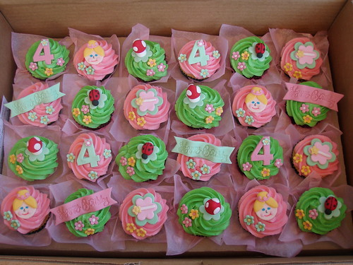 Mossy 39 s masterpiece fairy garden cupcakes this fairy for How to make fairy cupcakes