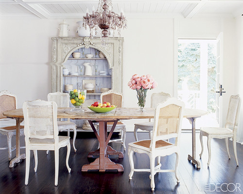 ... Elle Decor Dining Room   By AphroChic