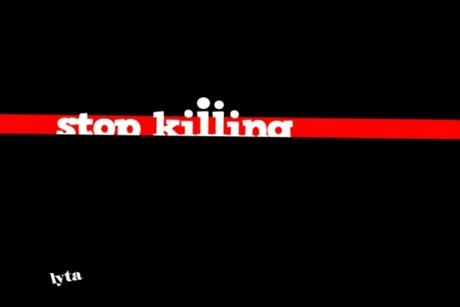 STOP KILLING PEOPLE on Vimeo | PAREN! por favor paren ...