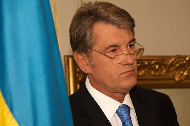 Wiktor Juschtschenko, Präsident der Ukraine, im Landgut - 3665221334_0a94cd2f4d_z