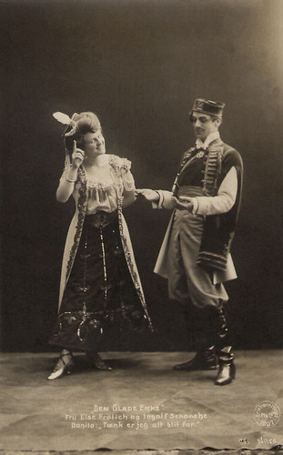 Else Frölich and Ingolf Schanche in The Merry Widow