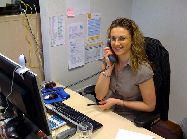louise hughes our wonderful office manager brain pop