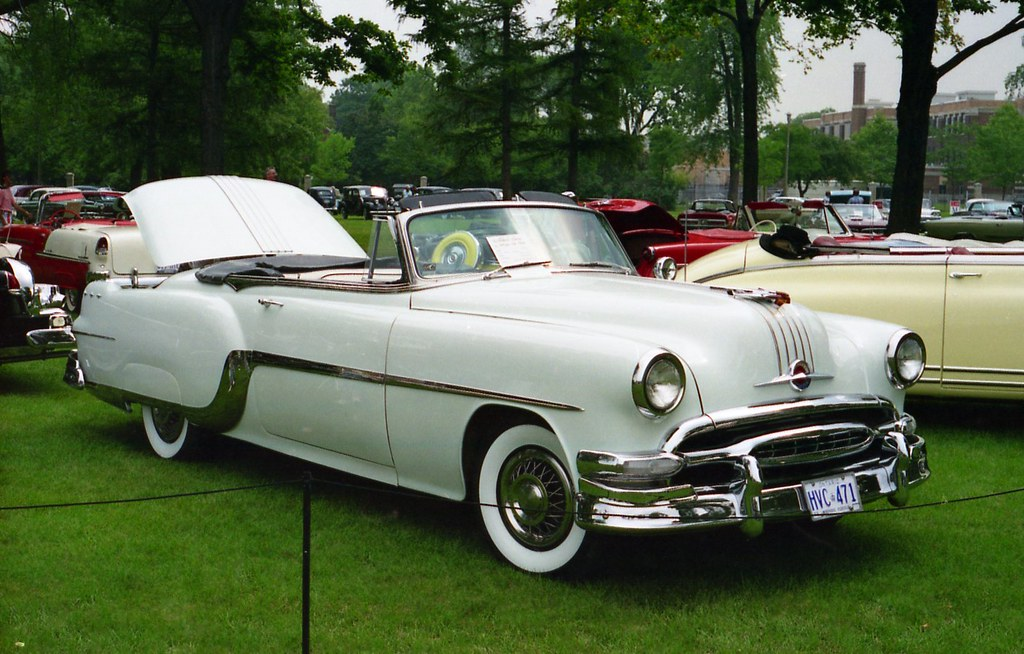 1954 Pontiac Star Chief Convertible Richard Spiegelman