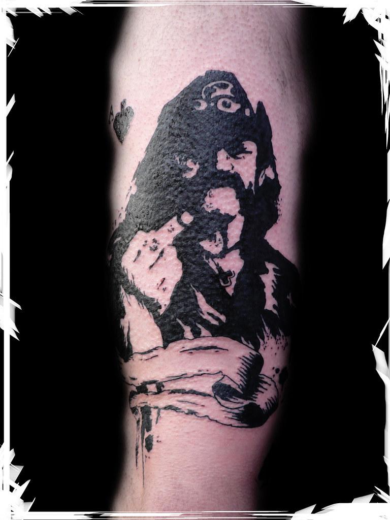 Lemmy Motorhead Grafik Twix Tattoo Flickr
