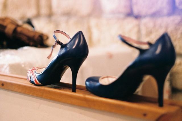 Union Jack Shoes Ladies