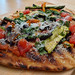 Grilled Pizza: Roasted Veg.